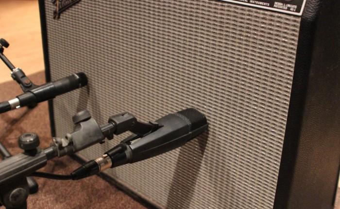 Enregistrer une guitare électrique
